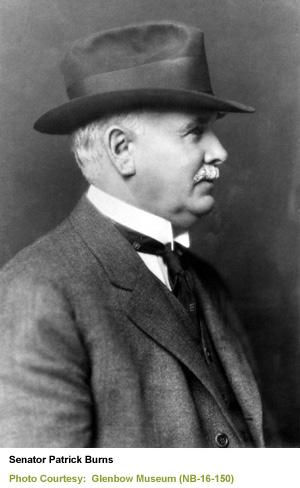 Senator Patrick Burns (1956-1937)