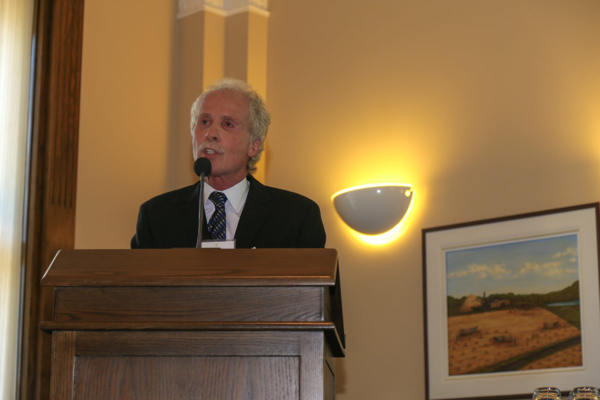Remarks By President And Founder Gordon Hoffman
