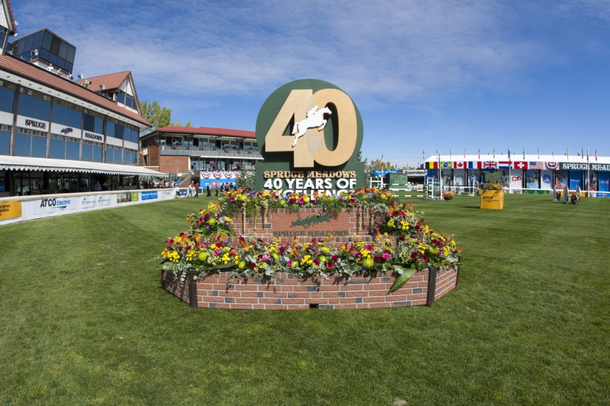 Spruce Meadows 40 Years