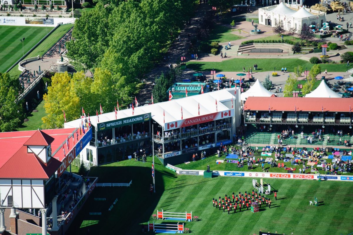Spruce Meadows CP Canada House