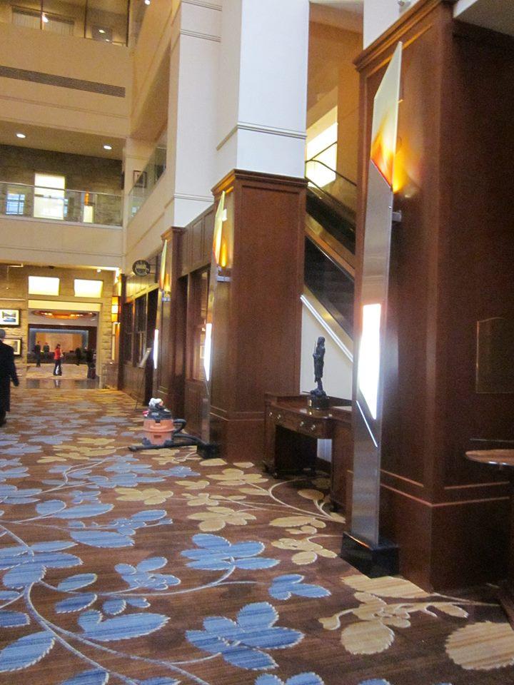 Hyatt Regency Hotel Lobby, Beside Escalator