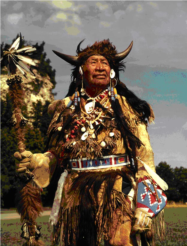 Chief Walking Buffalo (1871 To 1967)