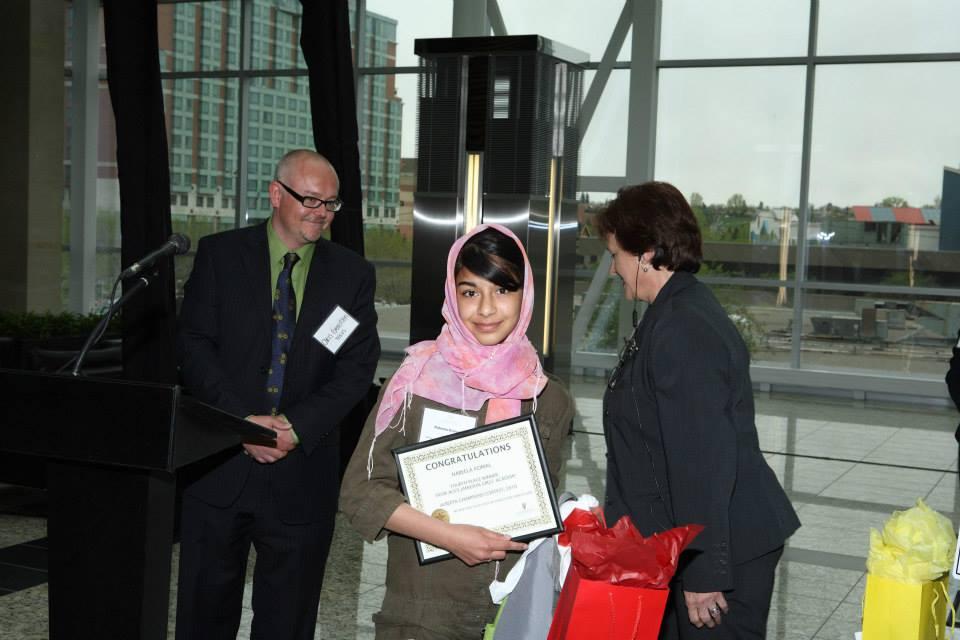 Thrid Prize-Seeret Ruprai, Alice Jamieson Girls' Academy, For Her Website On Alice Jamieson