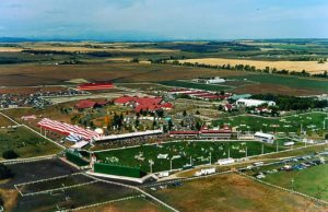 Spruce Meadows 1983 Aerial View