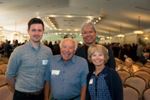 Local Architects Rob Birch, Chito Pabustan With Past Architectural Giant Martin Cohos And Elizabeth Cohos