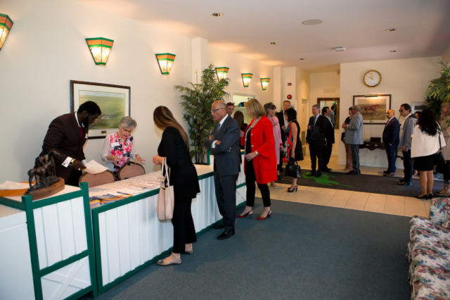 Guests Arriving at Spruce Meadows