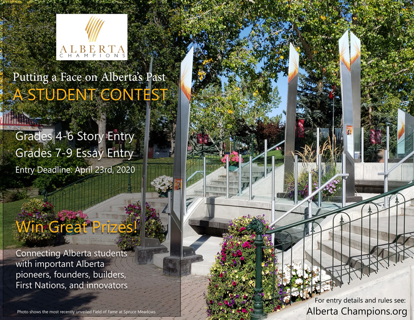 2020 Alberta Champions Student Contest Poster (CLICK for Downloadable/Printable version)