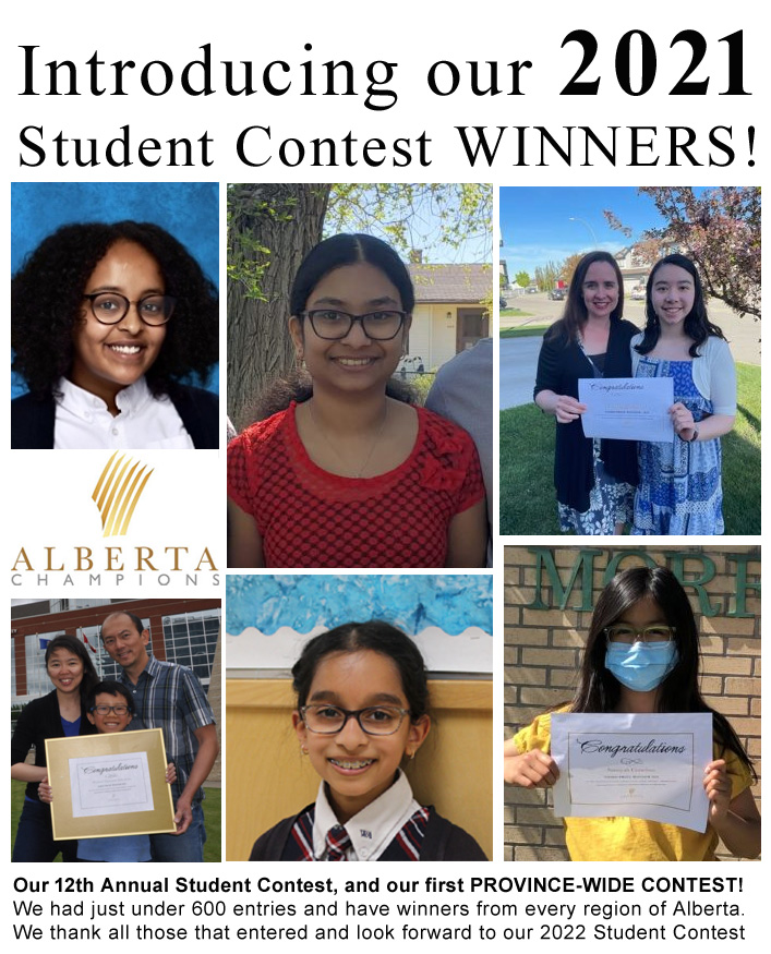 2021 Alberta-wide Student Contest Winners Announced!